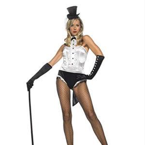 Tuxedo Showgirl Costume Leg Avenue Adult Small